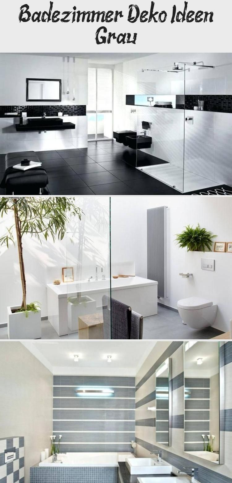 Badezimmer Deko Ideen Grau With Images Bathroom Bathtub
