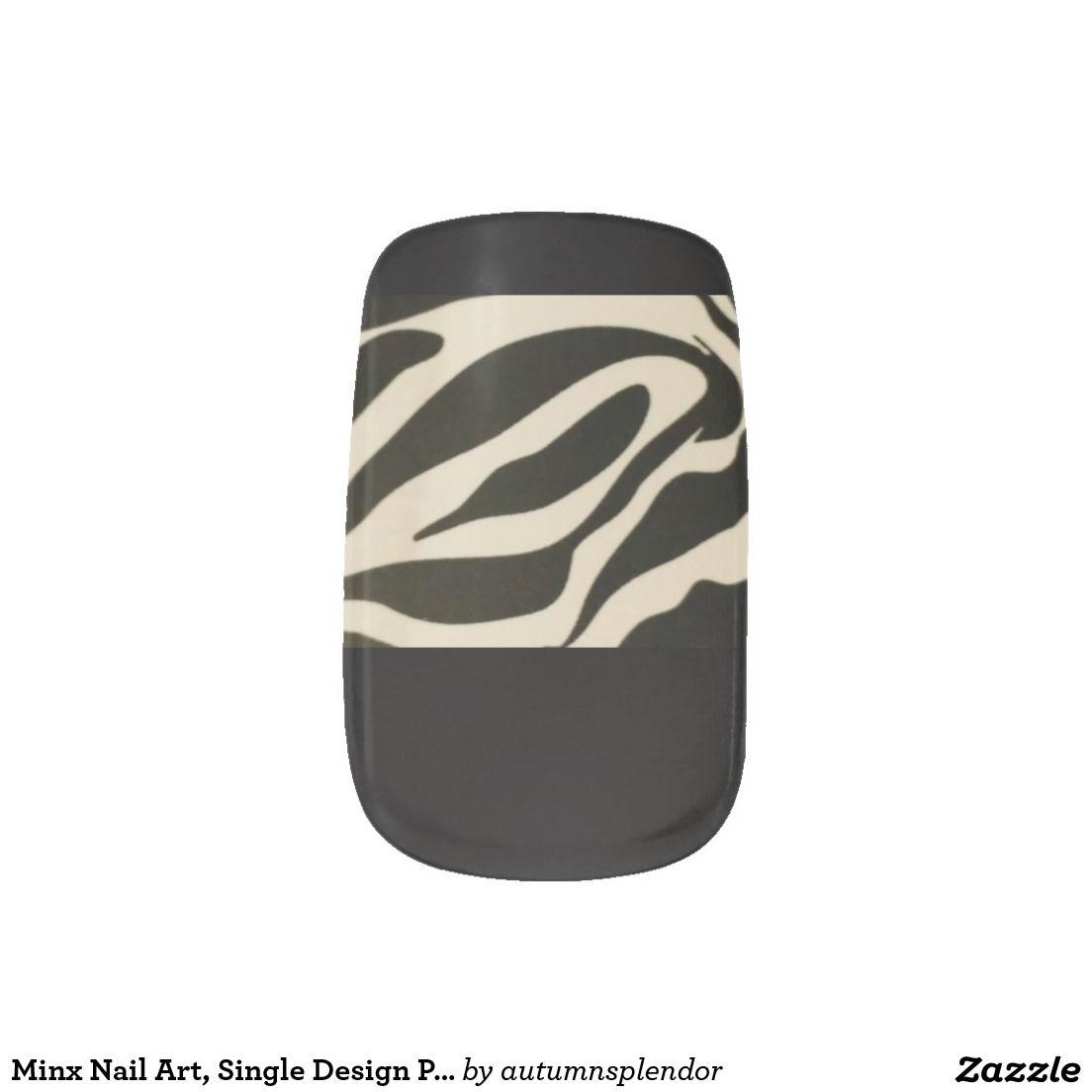 Minx Nail Art, Single Design Per Hand, Nail Wrap Minx® Nail Art ...