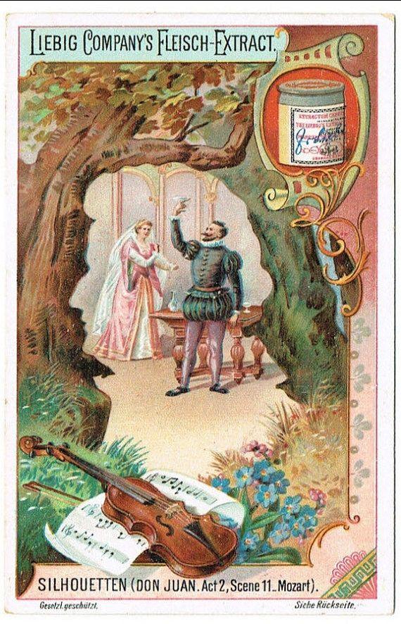 Liebig Famous German Artists card Original by Printvilla4you