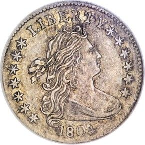 Early Dimes 1804 13 Stars Rev Jr 1 10c Ms Old Coins Coinage Coins