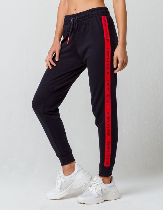 ed0a63184 TOMMY HILFIGER Logo Womens Jogger Pants | clothes in 2019 | Tommy ...