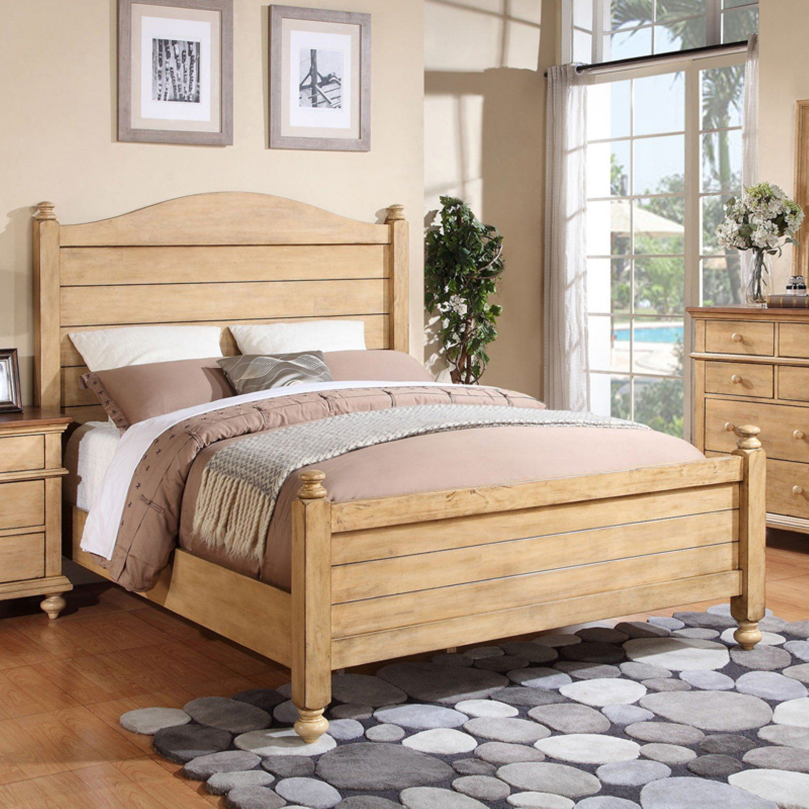Winners Only Quails Run Panel Bed, Size King Panel bed