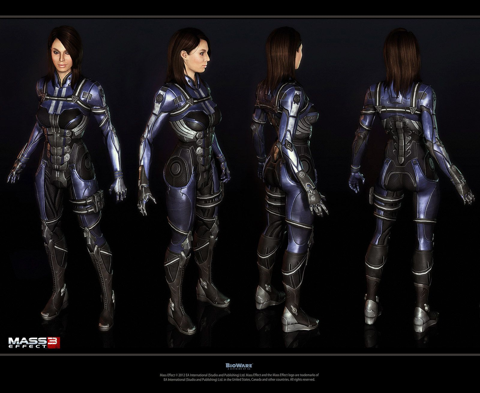 Jack mass effect 3 outfit