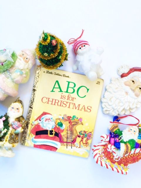 ABC is for Christmas: retro charm with Little Golden Books