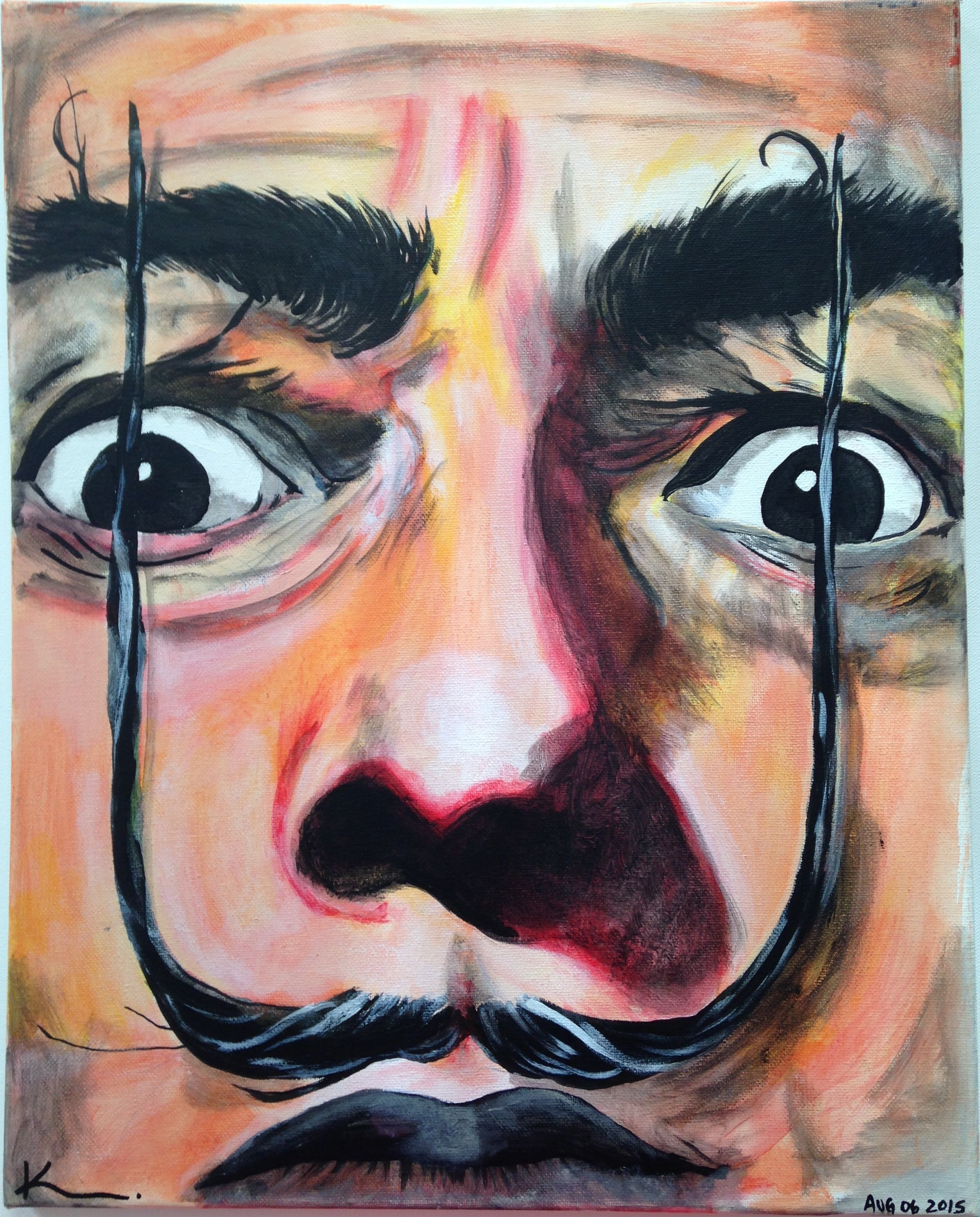 Spanish Artist and surrealist Icon, Salvador Dalí was born
