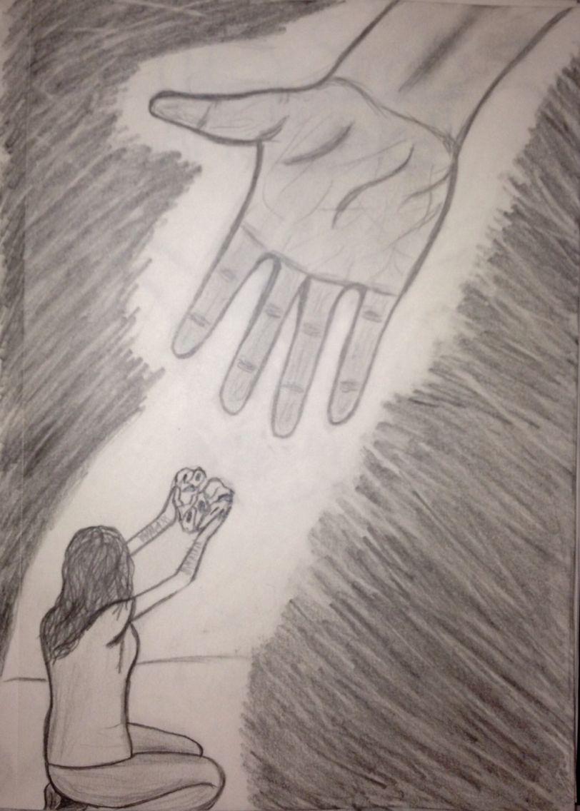 Reaching Down To Help
