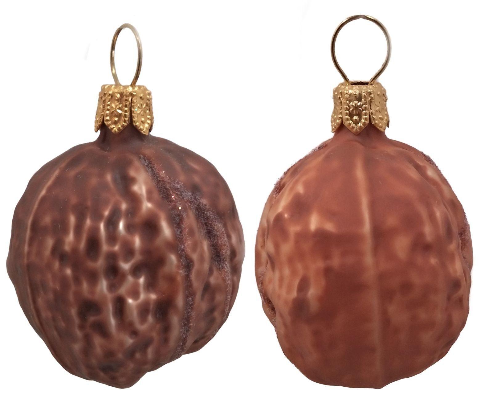 Shelled Walnuts Polish Mouth Blown Glass Christmas Ornament ...