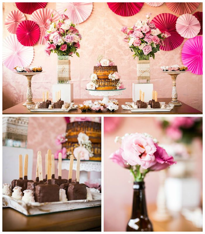 Elegant 30th birthday party via kara 39 s party ideas for 30th anniversary party decoration ideas