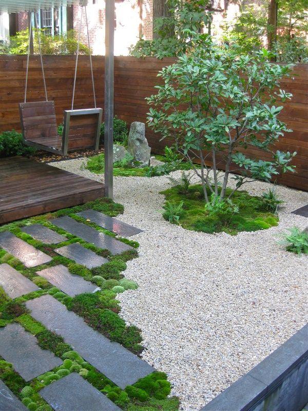 Shade Garden Paths Stepping Stones