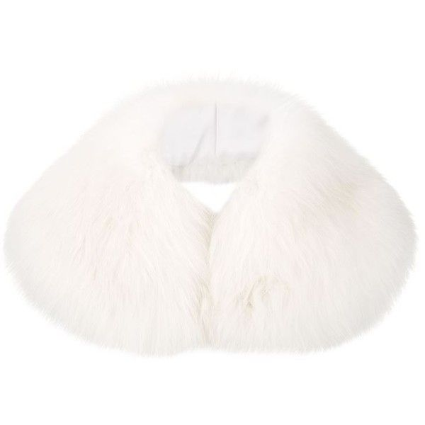 Harrods of London Small Fox Fur Collar (3 290 SEK) ❤ liked on Polyvore featuring accessories