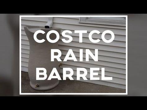 Watch This Before Buying A Costco Rain Barrel Gardening Rain
