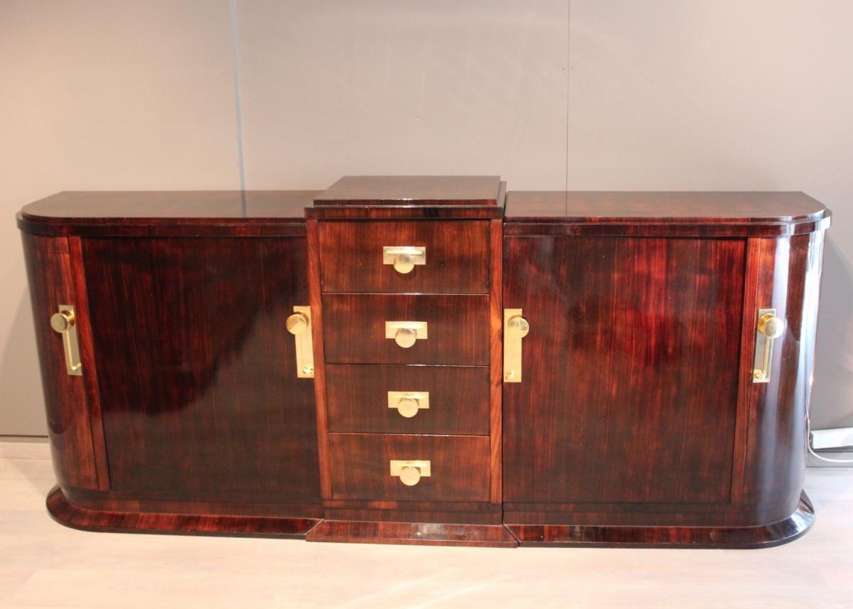 Enfilade D Epoque Art Deco Antiquites Christophe Rochet Proantic Art Deco Deco Buffet Style Art Deco