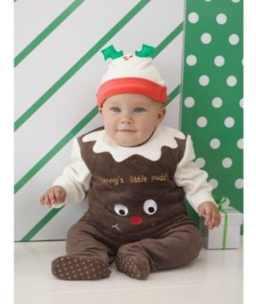Infant Christmas Pudding Costume - Christmas Or Plum Pudding Costumes And Dresses Awesome Christmas