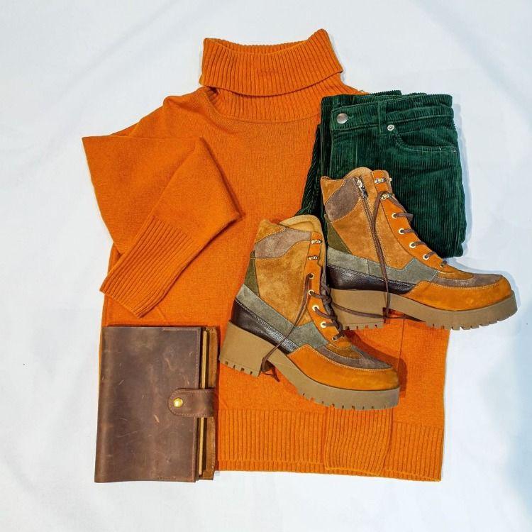 Jesienna Stylizacja Z Worker Boots Marshalls Shoes Boots Lady