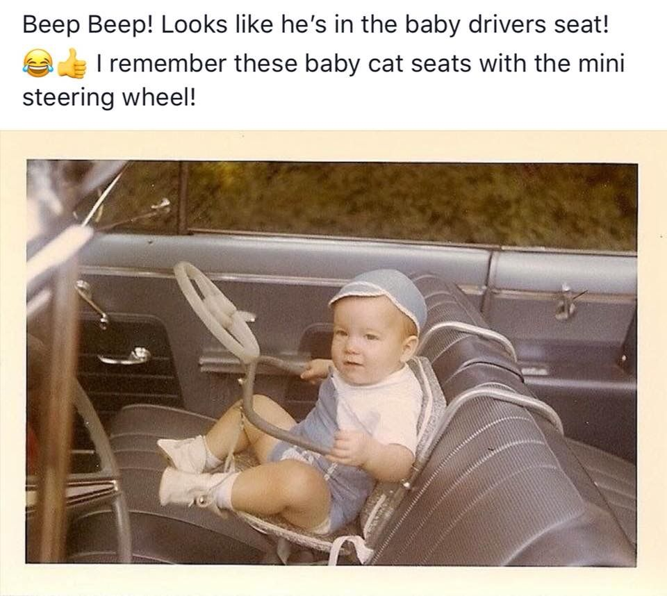 Baby seat of the 60's . The one we had didn't have A ...