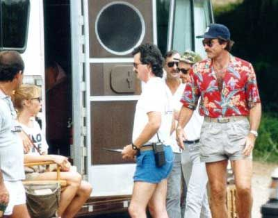 The Magnum PI Shirt Collection is comprised of 3 shirts all hand picked by Tom Selleck himself for his character Magnum to wear throughout the 8 year series. And the coolest thing about these shirts are that they are originals.