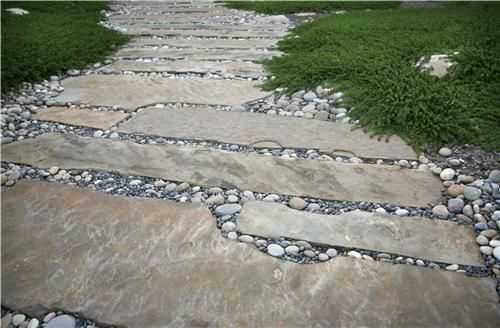 8 best images about walkway on pinterest gardens pathways and stone paths - Flagstone Walkway Design Ideas