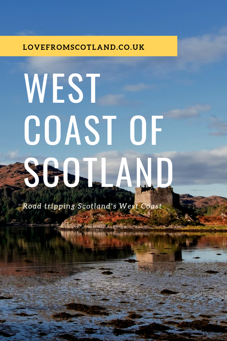 A West Coast of Scotland Road Trip #westcoastroadtrip Explore the best bits of the west coast of Scotland on this itinerary ferry hopping from the Isle of Skye, Ardnamurchan, Mull and Oban. via @LoveFromScotland #westcoastroadtrip