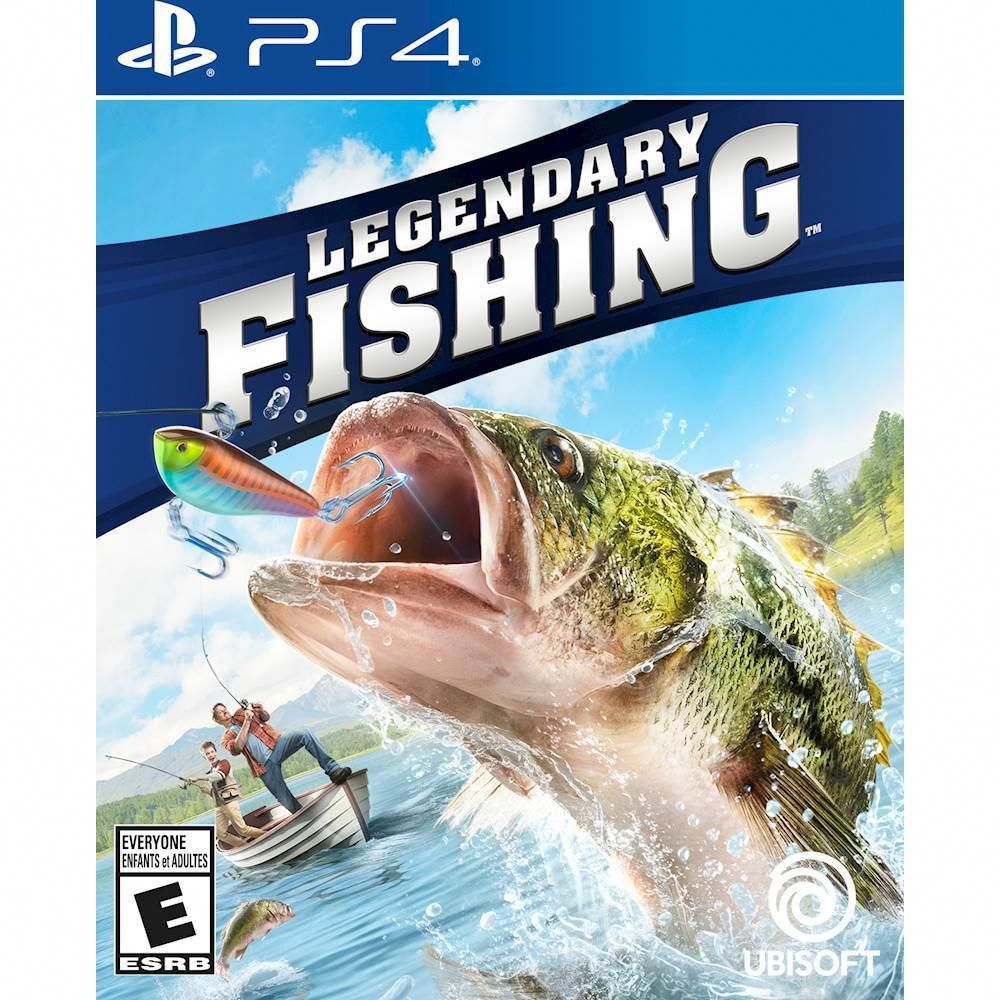 Legendary Fishing PlayStation 4 videogames