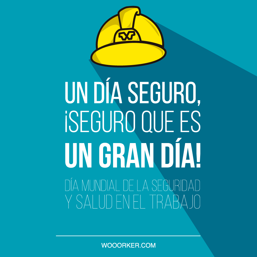 Día Mundial De La Seguridad Y Salud En El Trabajo Carteles
