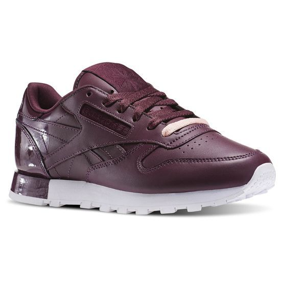 Sneakers femme - Reebok Classic Leather Matte Shine
