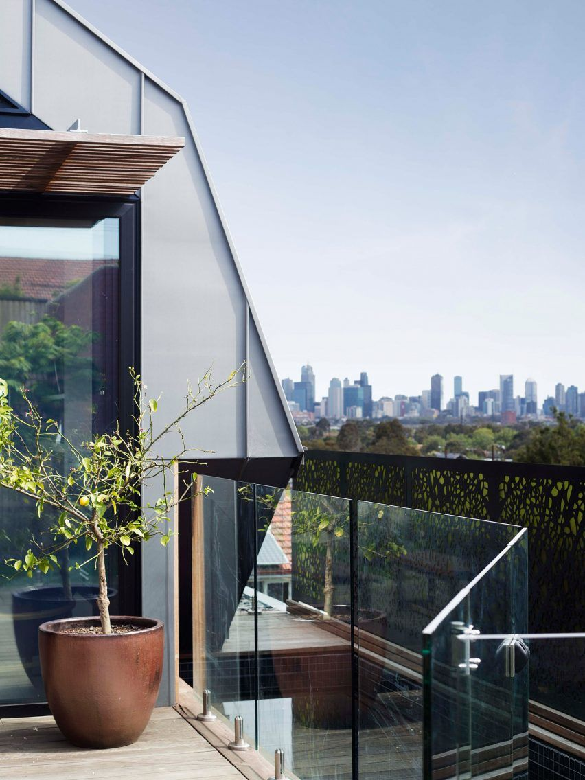 Rucker Hill House By Gardiner Architects Melbourne House Zinc Roof Architect