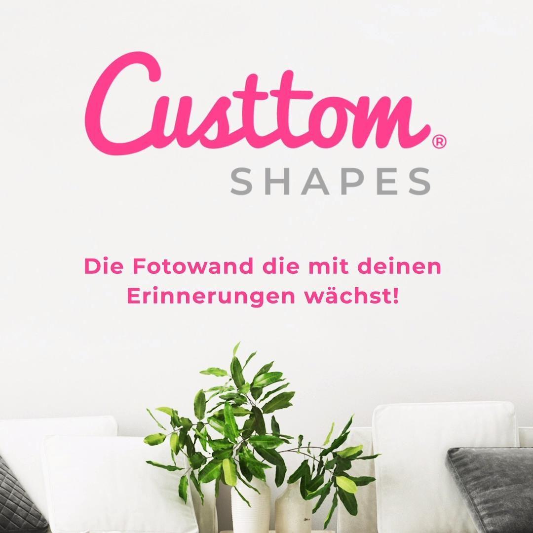 CusttomShapes® – die Fotowand, die mit deinen Erinnerungen wächst!