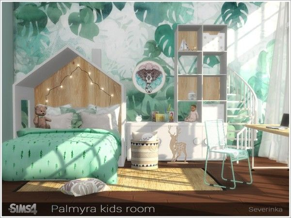 Photo of The Sims Resource: Palmyra kidsroom by Severinka • Sims 4 Downloads