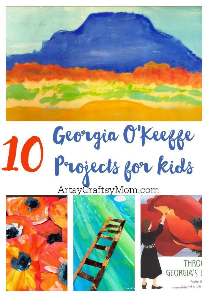Photo of Top 10 Artist Georgia O'Keeffe Projects for Kids