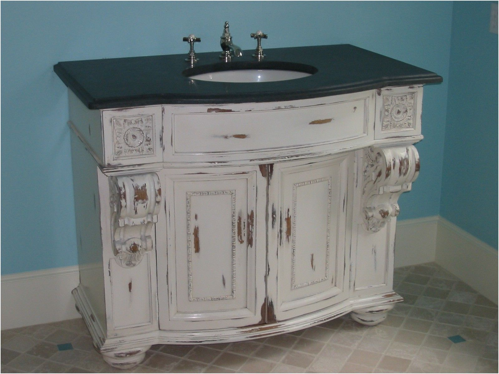 Shabby Chic Bathroom Cabinet Shabby Chic Blue Bathroom Wall From Bathroom  Cabinets Shabby Chic