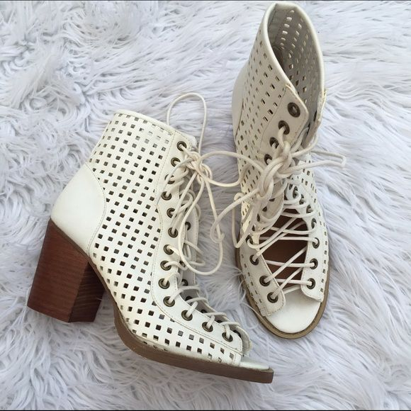 NASTY GAL SZ 8 SHOE CULT BOWIE LACE UP SHOES They have been worn like twice :) Wildfox Shoes