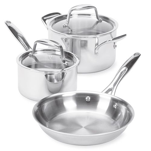 Stainless Cookware 5-Piece Set - The Pampered Chef®
