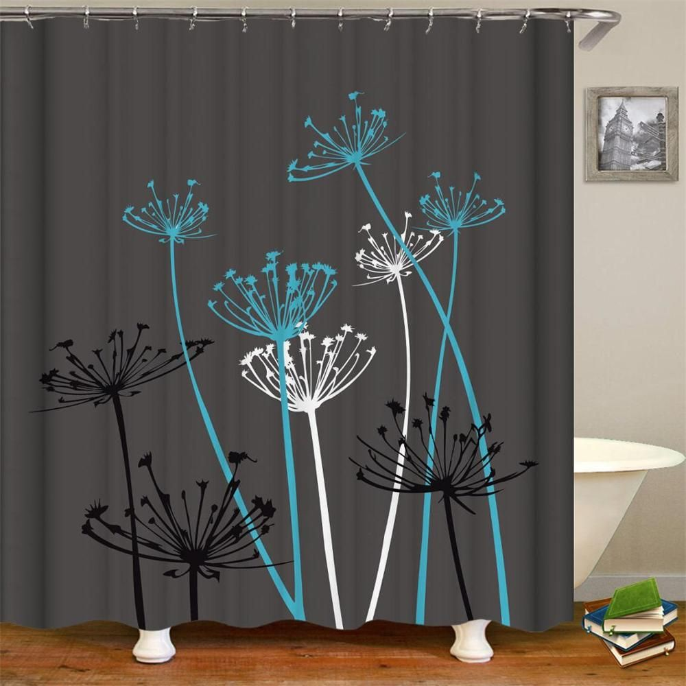 Order This Limited Editionthistle Shower Curtain 1 Pc Now With