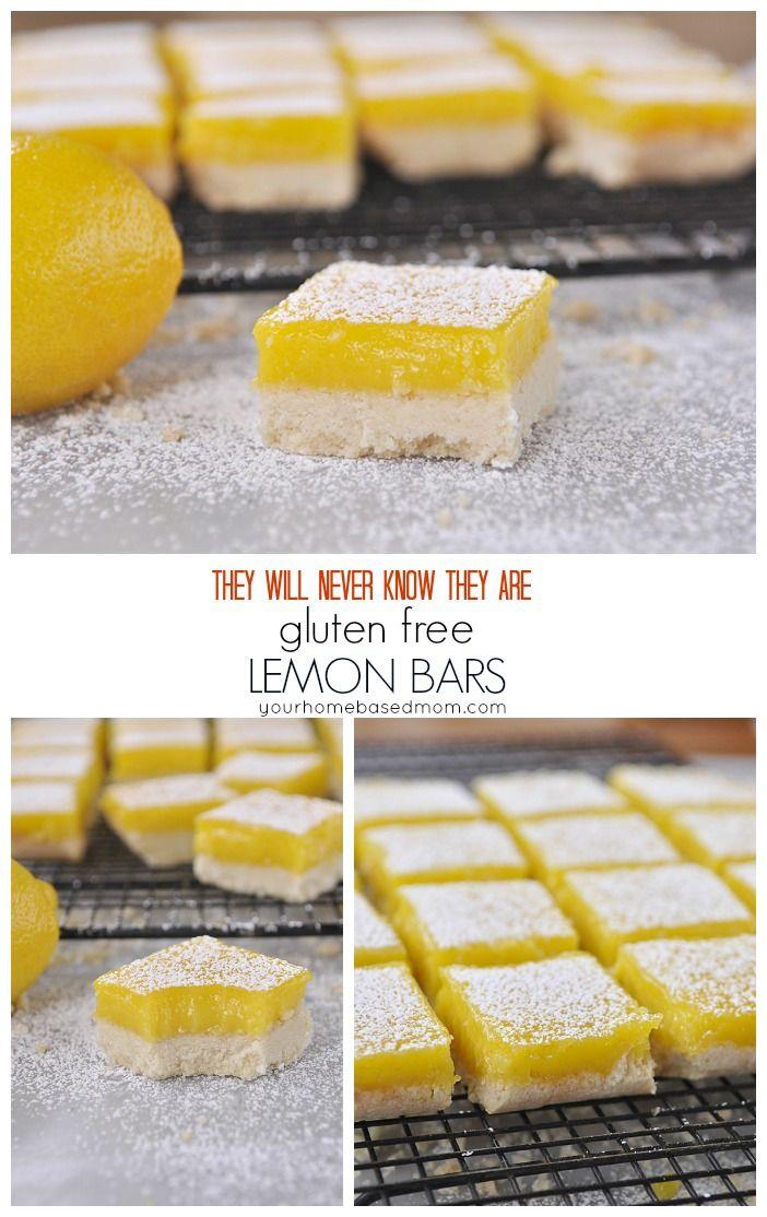 Gluten Free Lemon Bars Recipe Gluten Free Sweets Gluten Free