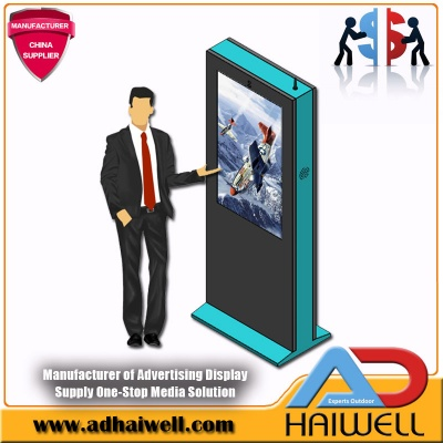 49 Inch LCD Outdoor Digital Signage Single Structure