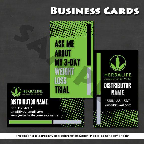 Herbalife Business Card Digital Download Herbalife Business Herbalife Business Cards Herbalife