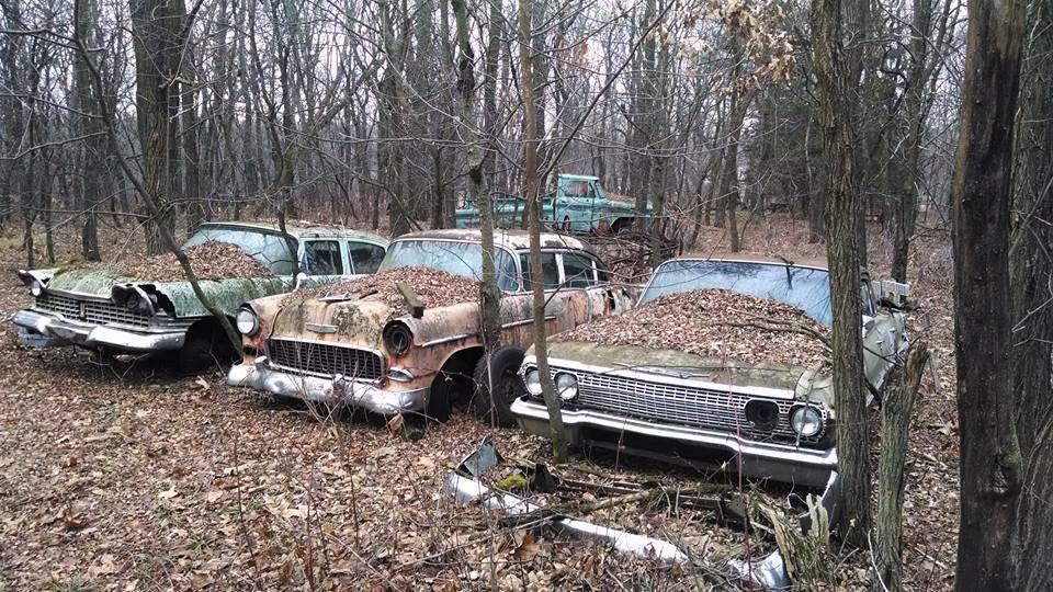 Pin on junk yard greats/barn finds