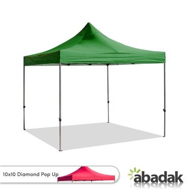 The Diamond Pop Up Tent 10 X 10 The Patented Frame Design Ensures High Quality Protection The Diamond Pop Up Tents Pop Up Tent Frame Design Beach Tent