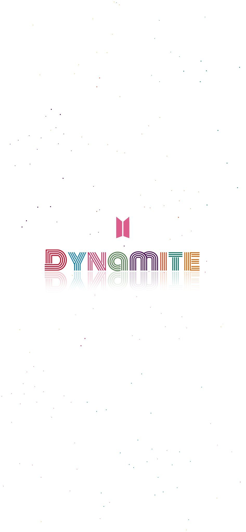 Bts Dynamite Wallpaper Lockscreen Edit Kartu Bts Suga Bts Bts dynamite logo wallpaper