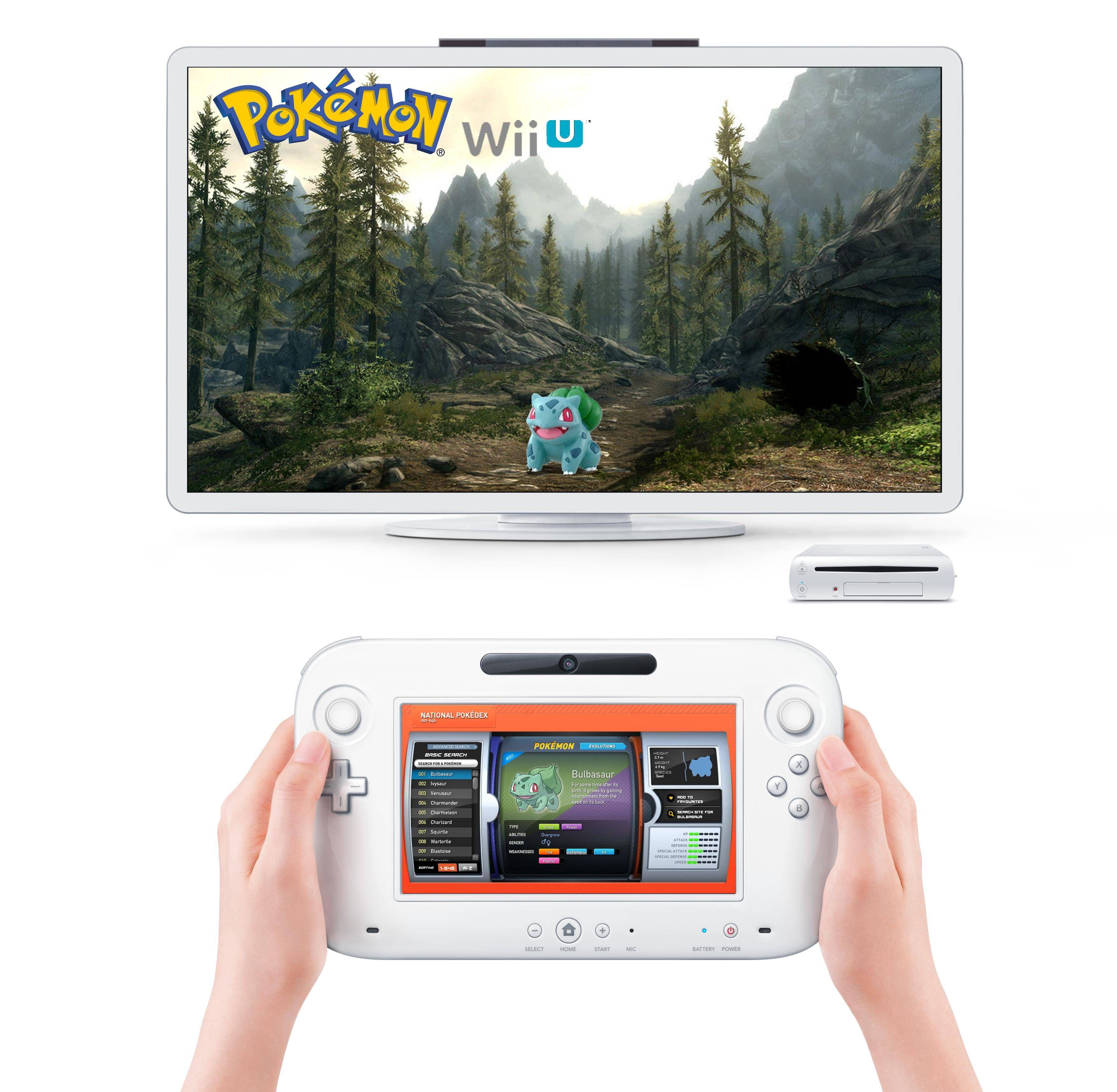 Shamelessly stole from reddit: Pokemon Wii U | Geek grokking