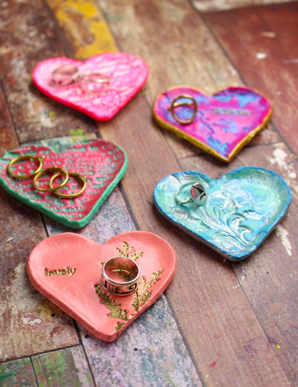 Photo of DIY Valentine's Day Gifts – DIY Ring Holder Dish
