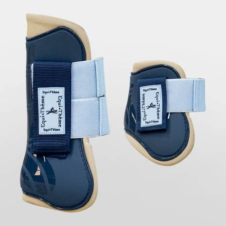 Equi Theme Stripe Tendon & Fetlock Boots Set Want. OMG, and they're BLUE! Nash's color!!