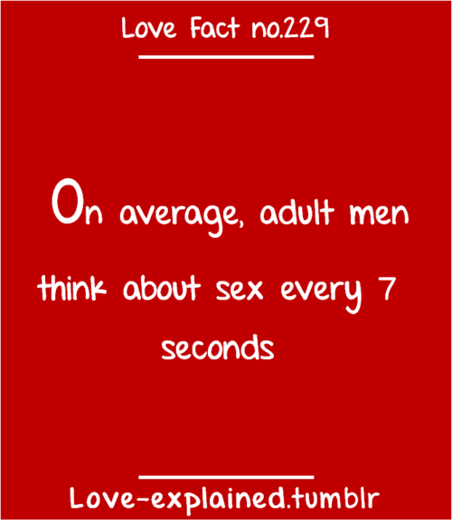 facts about love and sex