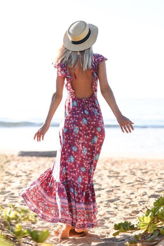 Spell Designs Folk Town Frill Dress: