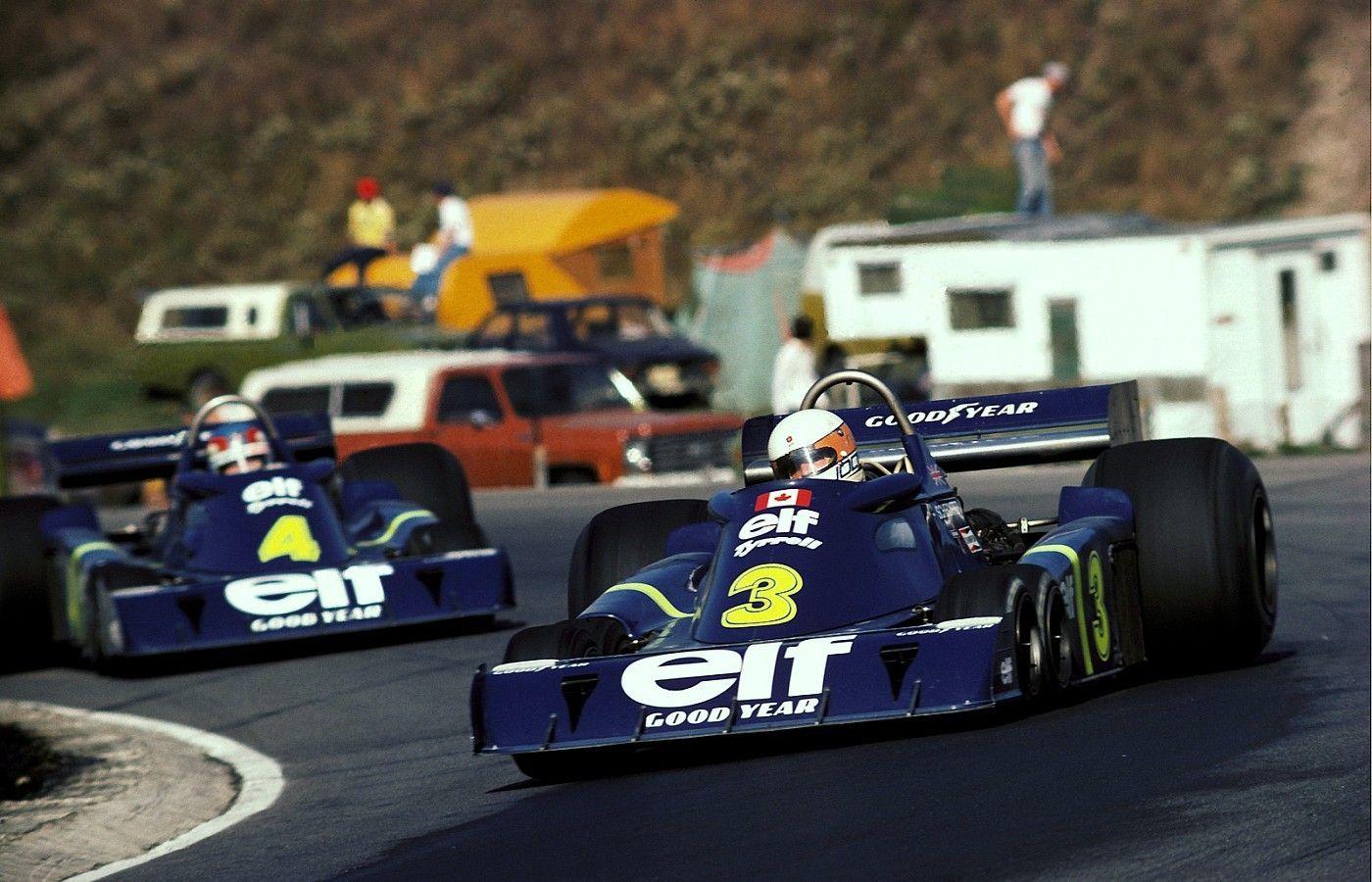 Resultado de imagen para Jody Scheckter y Patrick Depailler