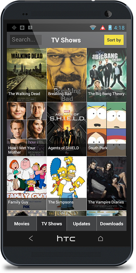 Show Box app! Free Movies and TVshows on your Android
