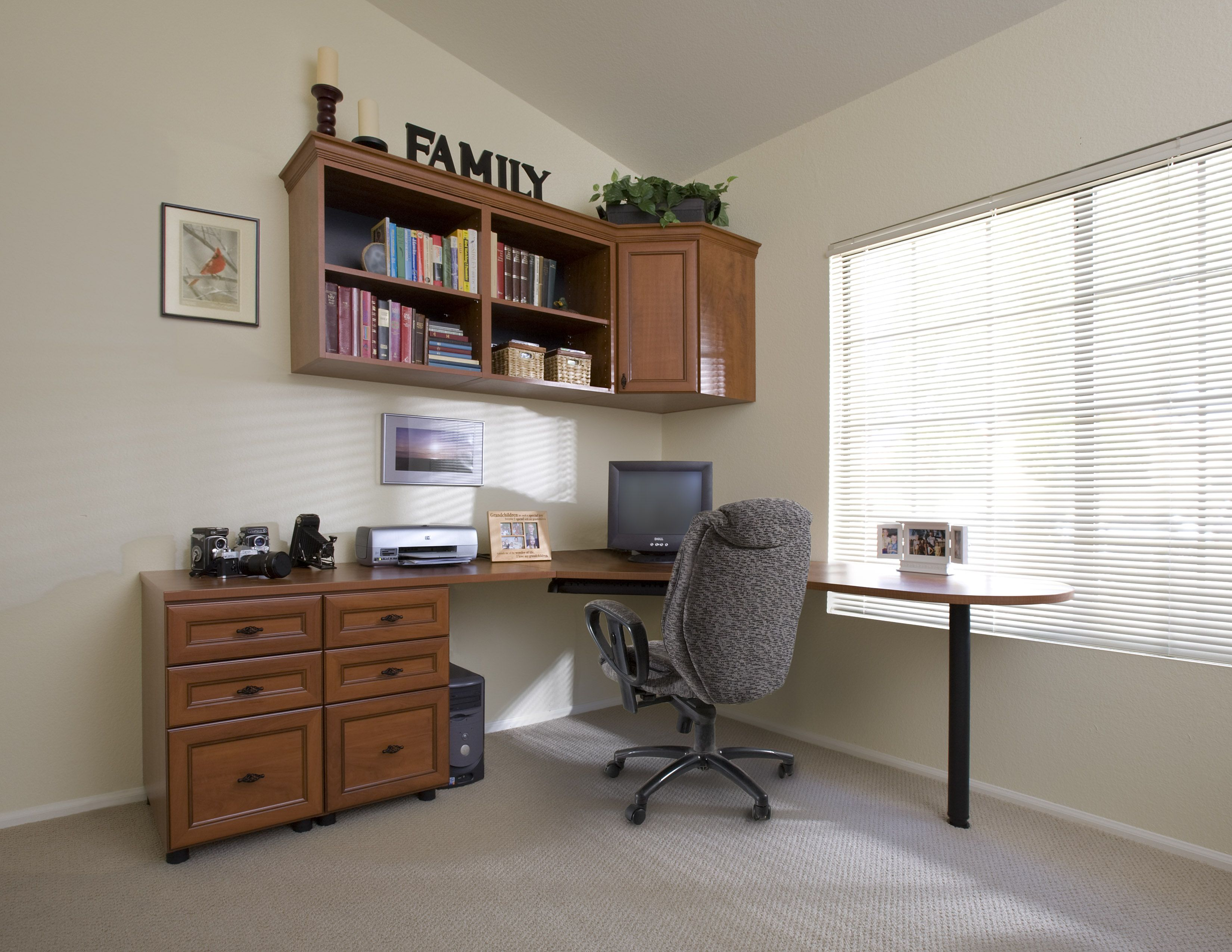 Closet Office Ideas