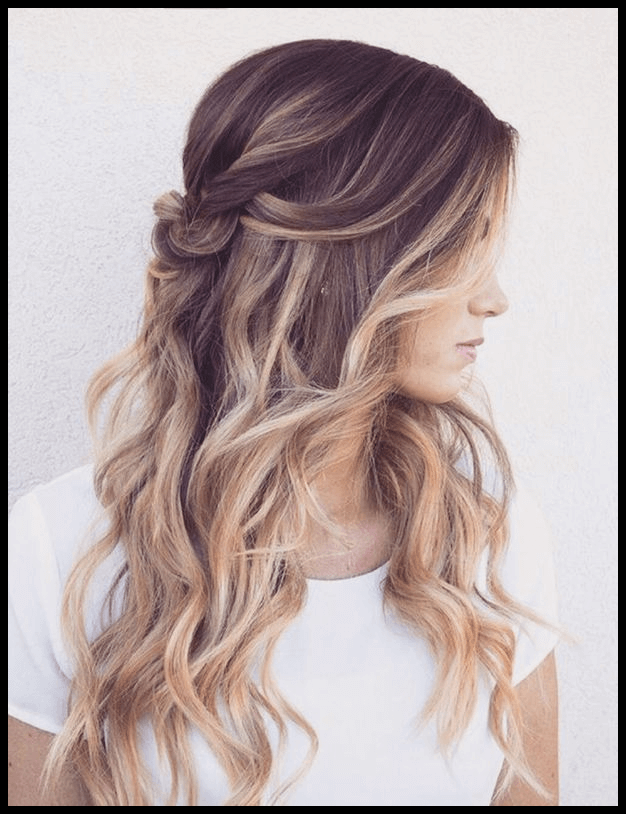 Frisuren Lange Haare Locken Hochstecken Wedding Pinterest
