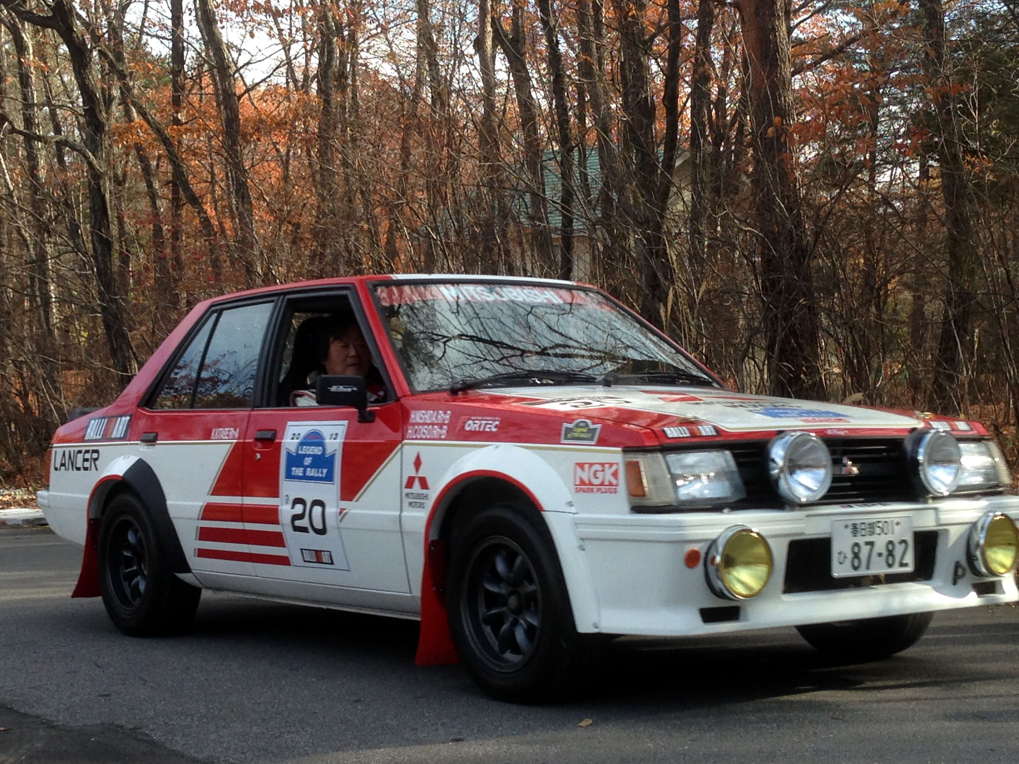 Mitsubishi Lancer 2000 Turbo Rally Car | Classic Cars | Pinterest ...