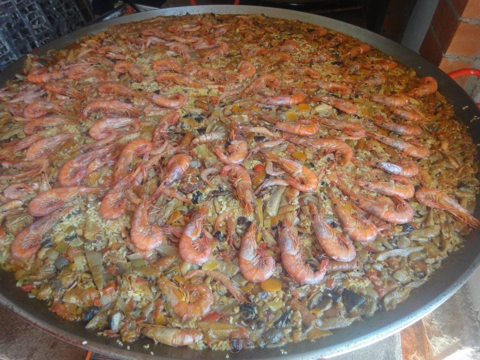 Sabe a paella!!! #saboreaespaña It tastes like paella #tastingspain